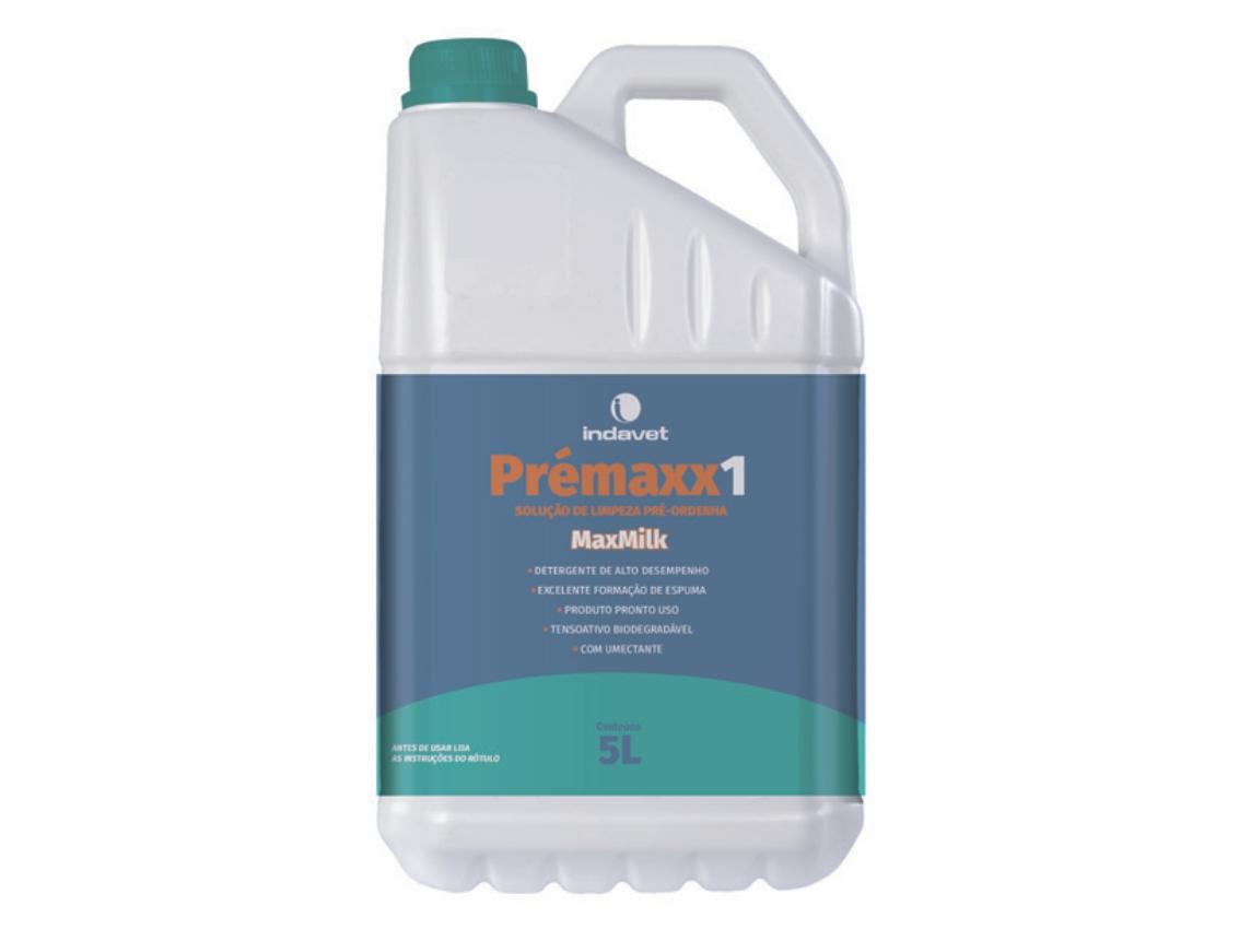PRÉMAXX 1 - Solução de Limpeza Pré-ordenha