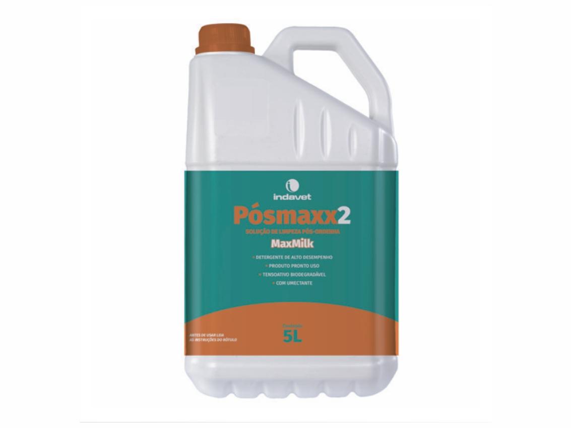 PÓSMAXX 2 - Solução de Limpeza Pós-ordenha